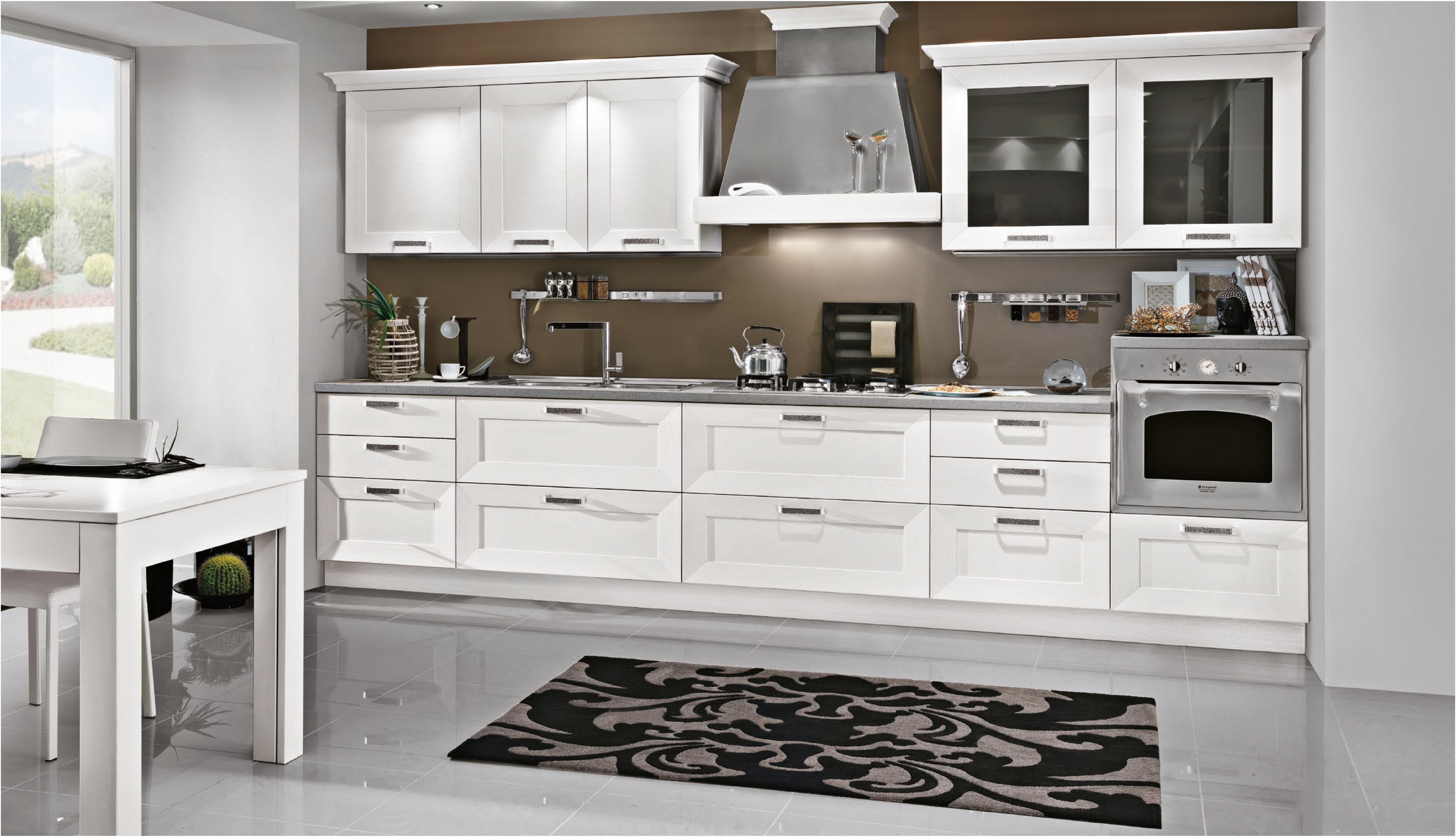 Cucine Moderne Bianco.Celine Bianco Spazio Arreda Harte Realizza L