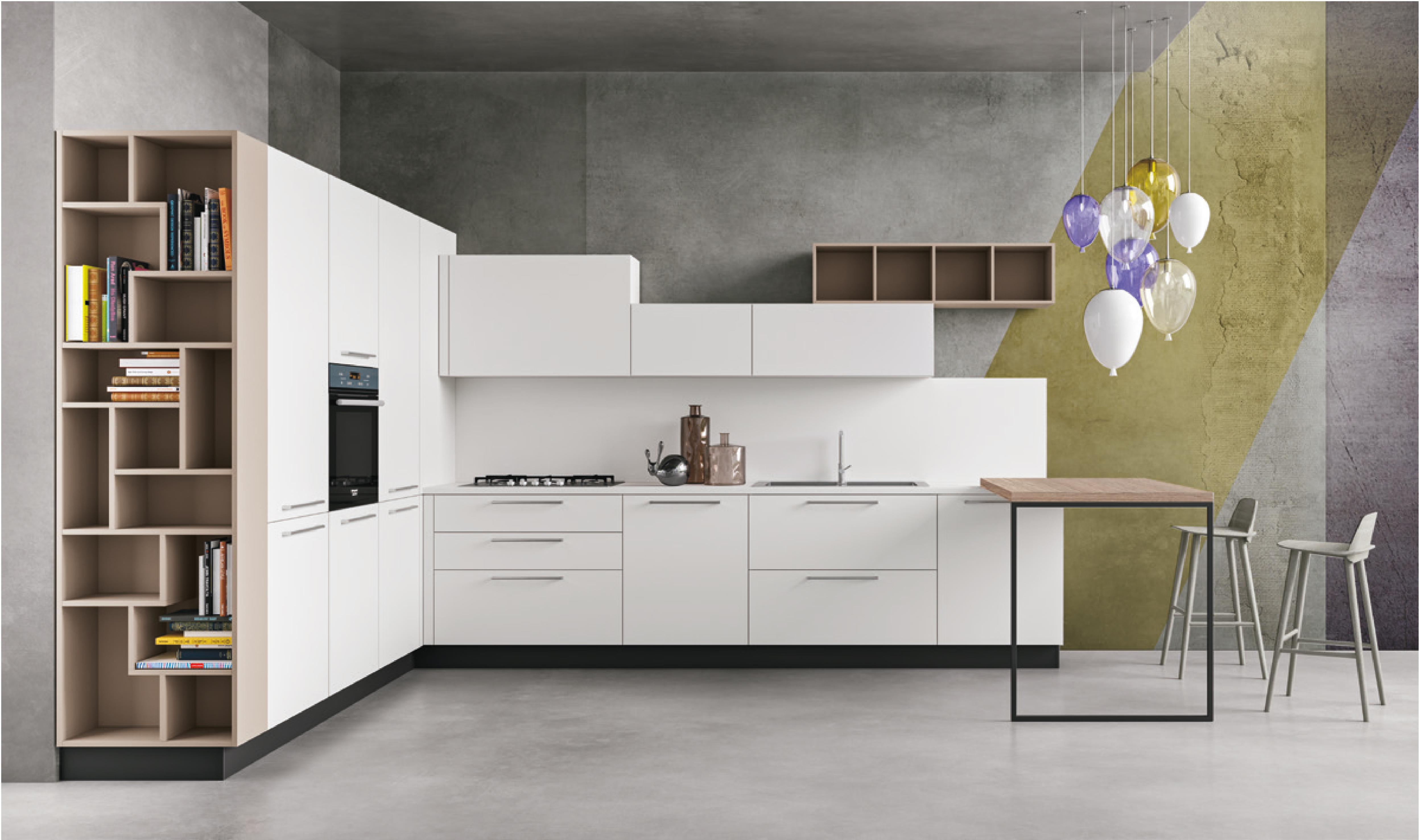 Tiffany spazio arreda hart realizza l 39 arredamento for Cucine moderne harte
